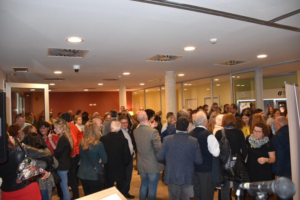 Gran assistència a la inauguració de les noves instal·lacions de la Fundació Aymar i Puig